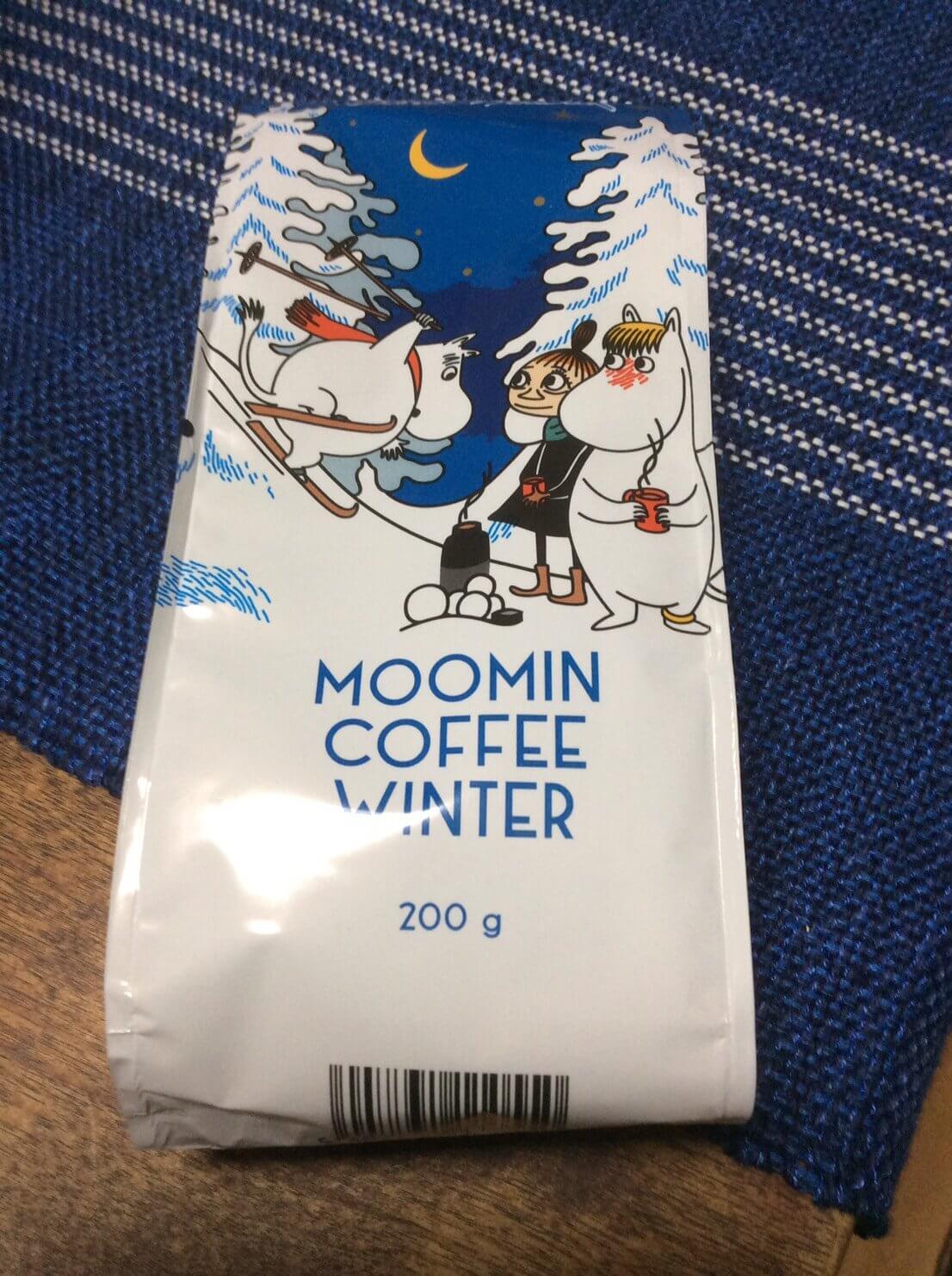 ムーミンのコーヒー粉