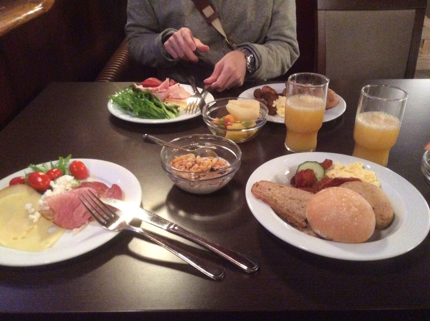 ソコス・ヴァークナの朝食