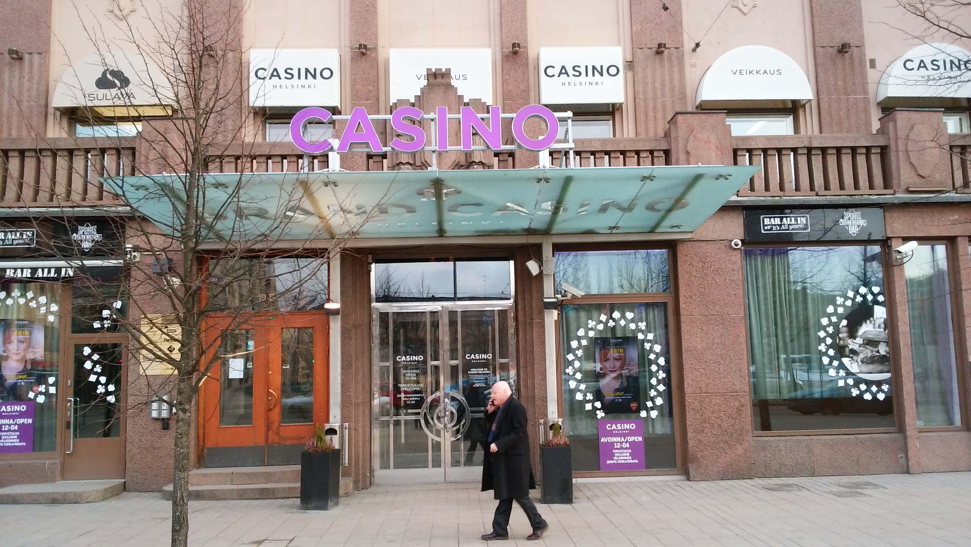 ヘルシンキ・カジノの外観