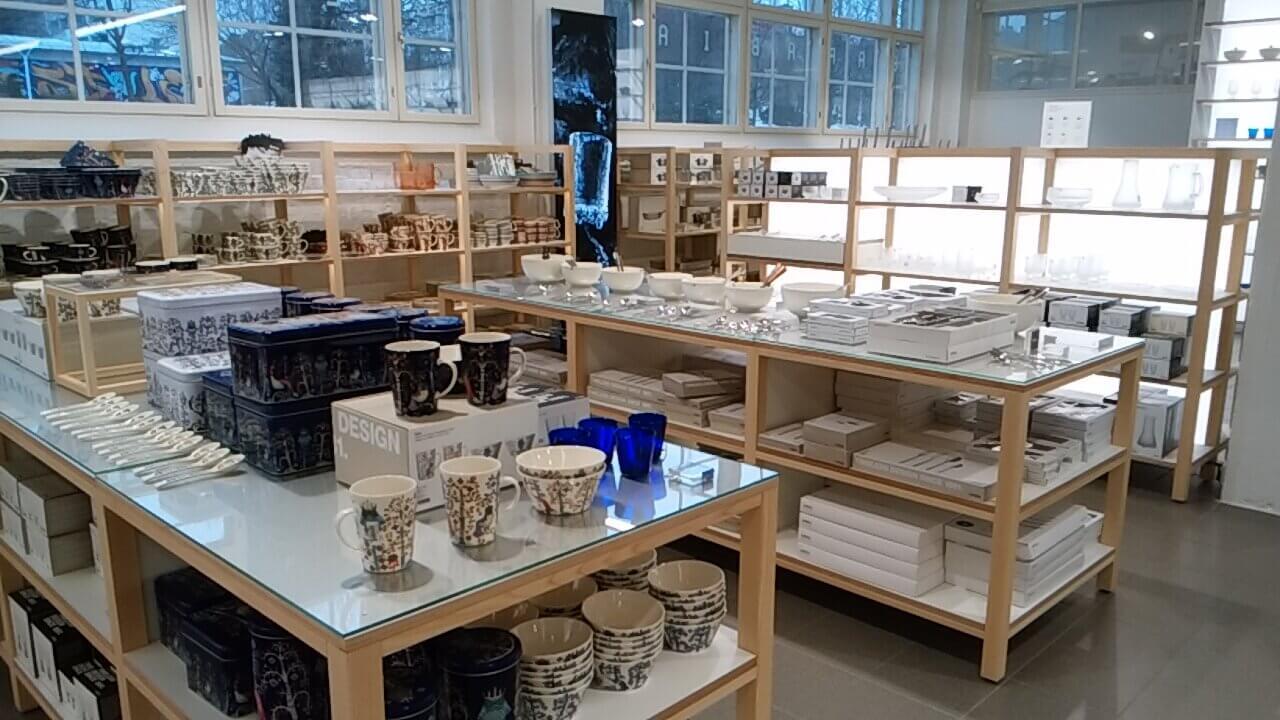 アラビアデザインセンターのムーミンマグ