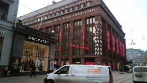 北欧最大級のデパートとして知られるヘルシンキのストックマン