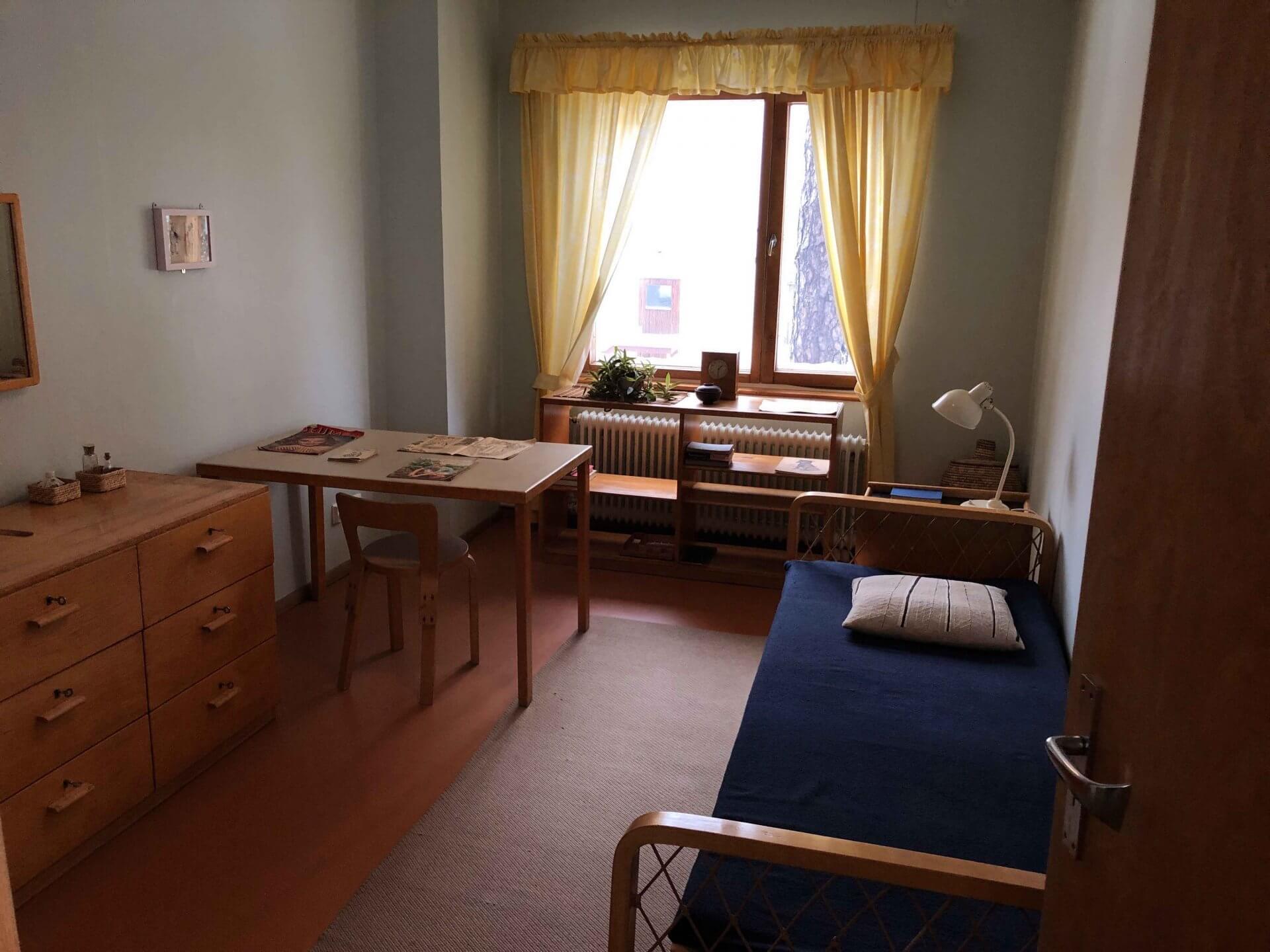 アアルト自邸2階の子供部屋(その2)