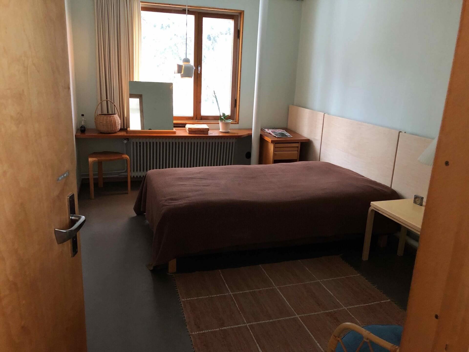 アアルト自邸2階の寝室兼子供部屋