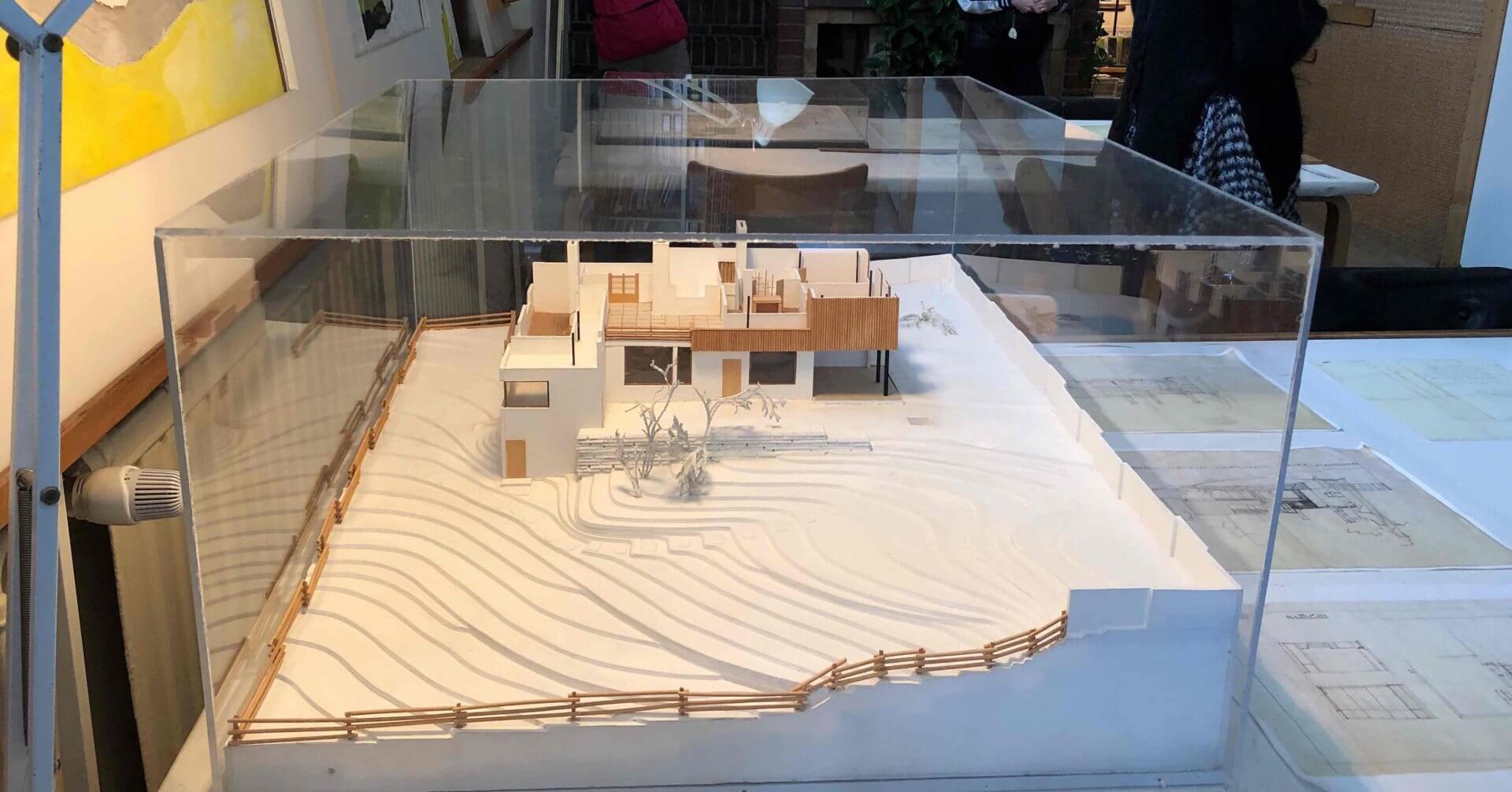 アアルト自邸の模型