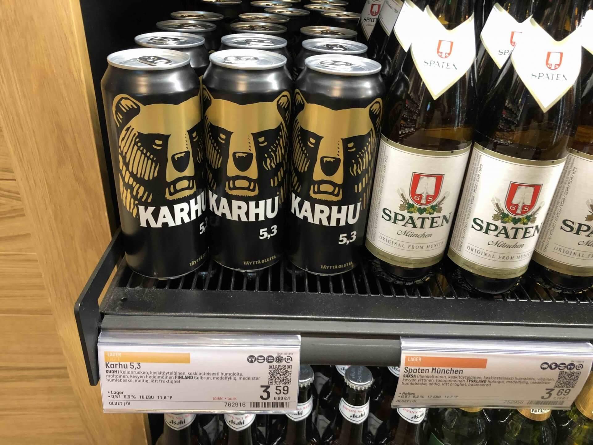 フィンランドの定番ビール「カルフ」