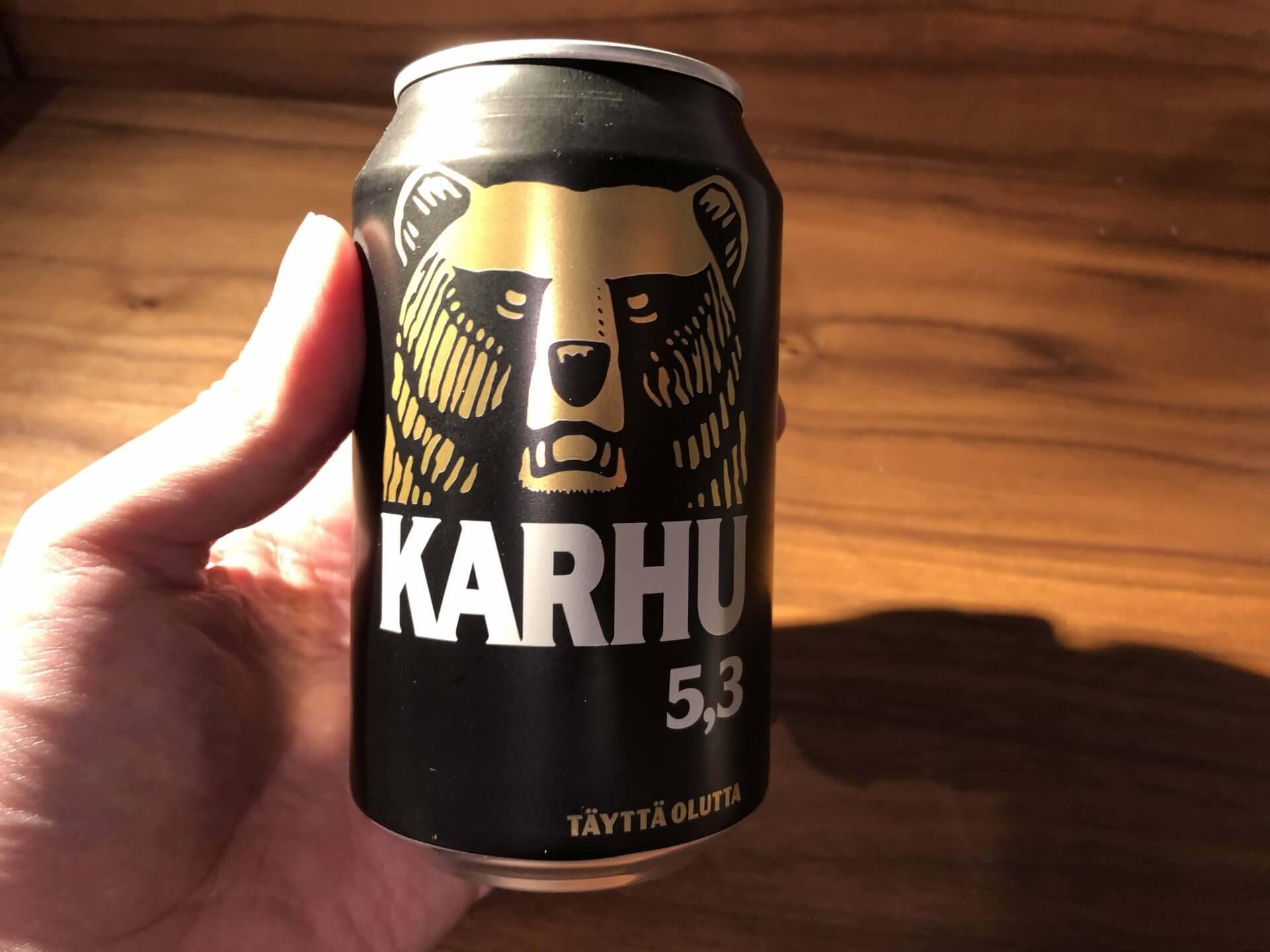 フィンランドで購入したカルフビール