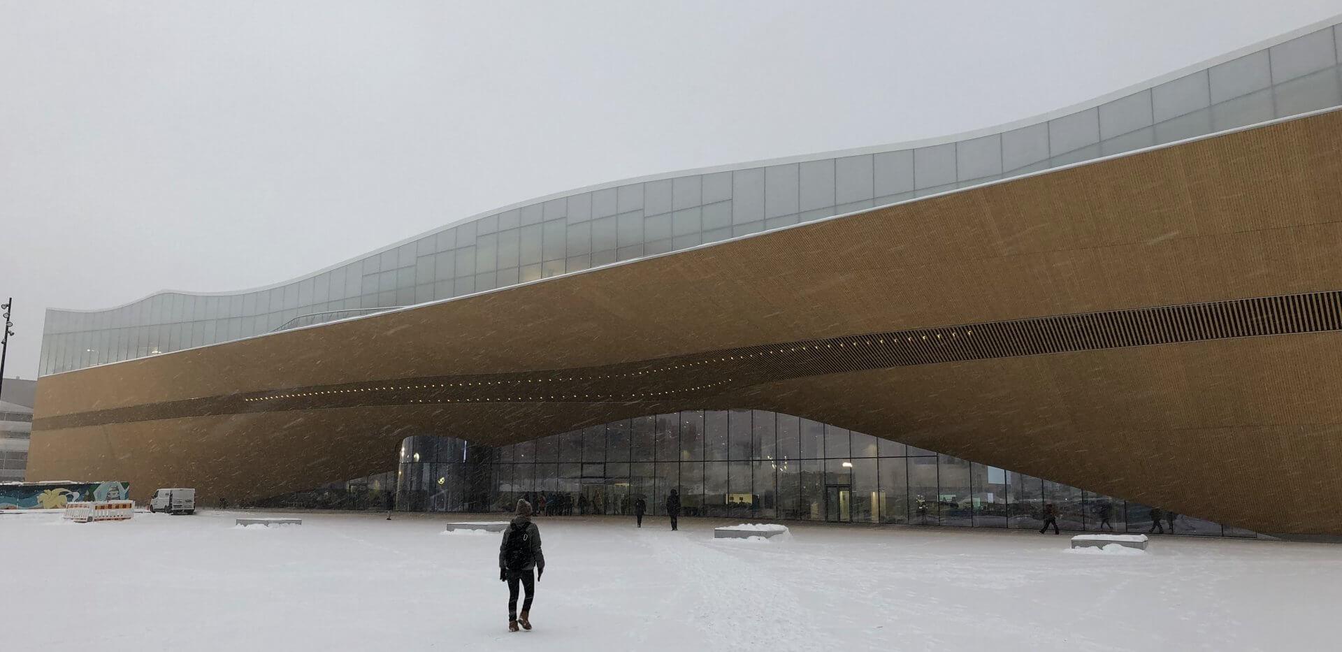 ヘルシンキ中央図書館の外観