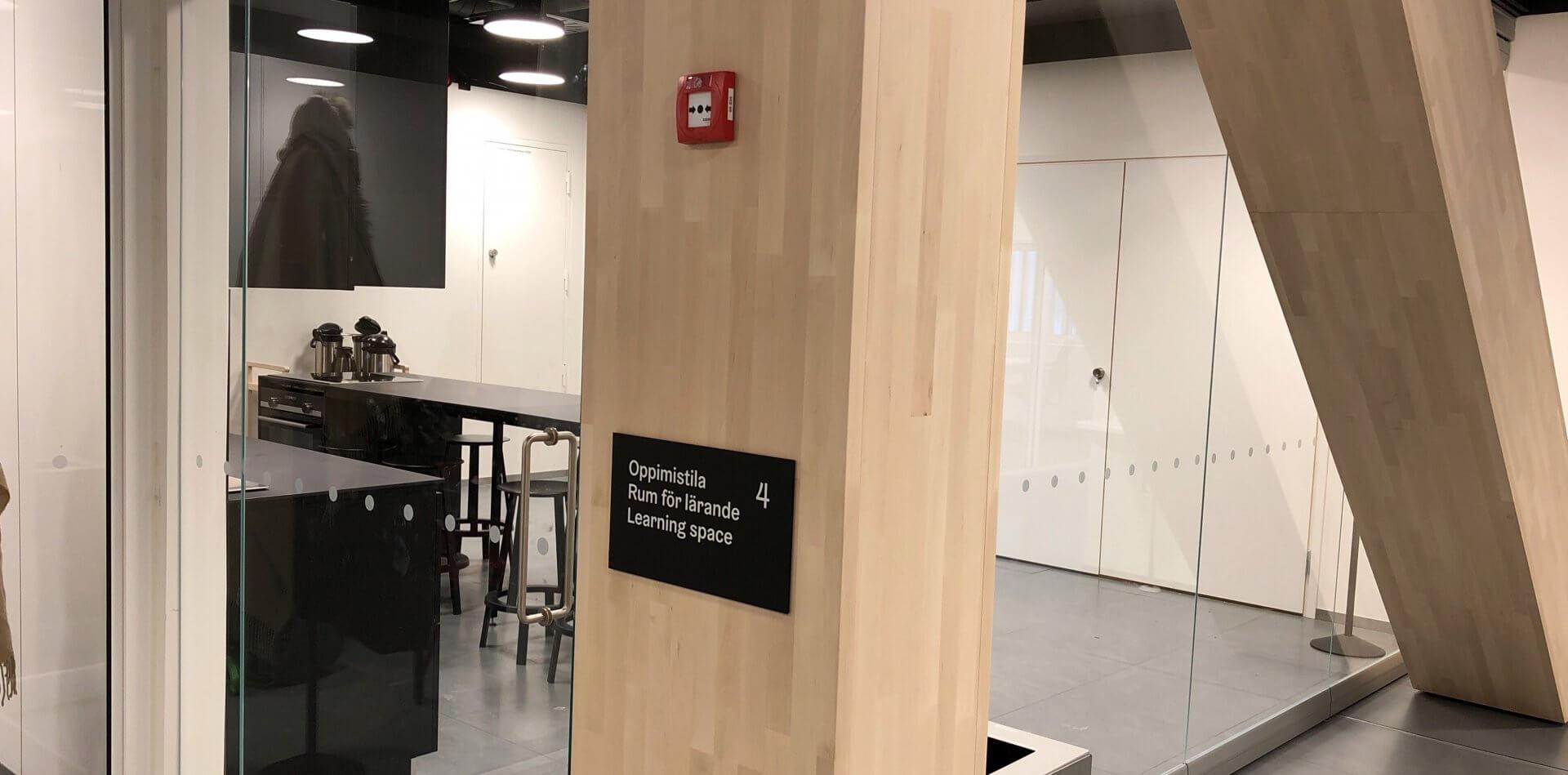 中央市図書館2階にあったクッキングスタジオ