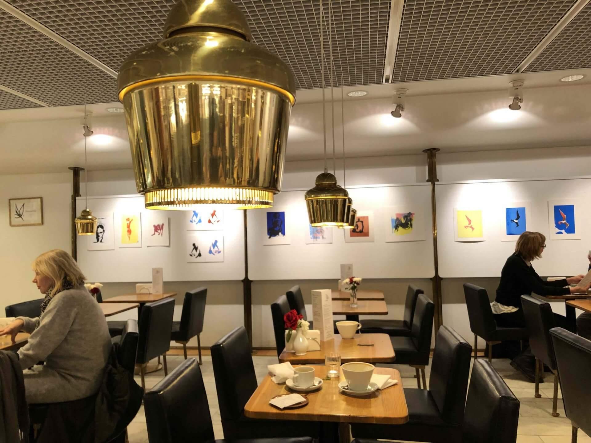 カフェ・アアルトで使われているランプ