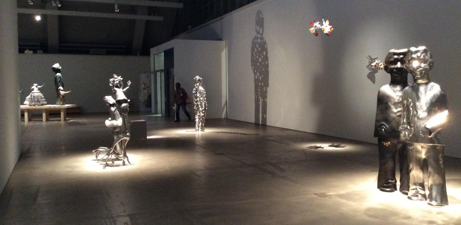 ペッカ・カウハネンの彫刻展その1