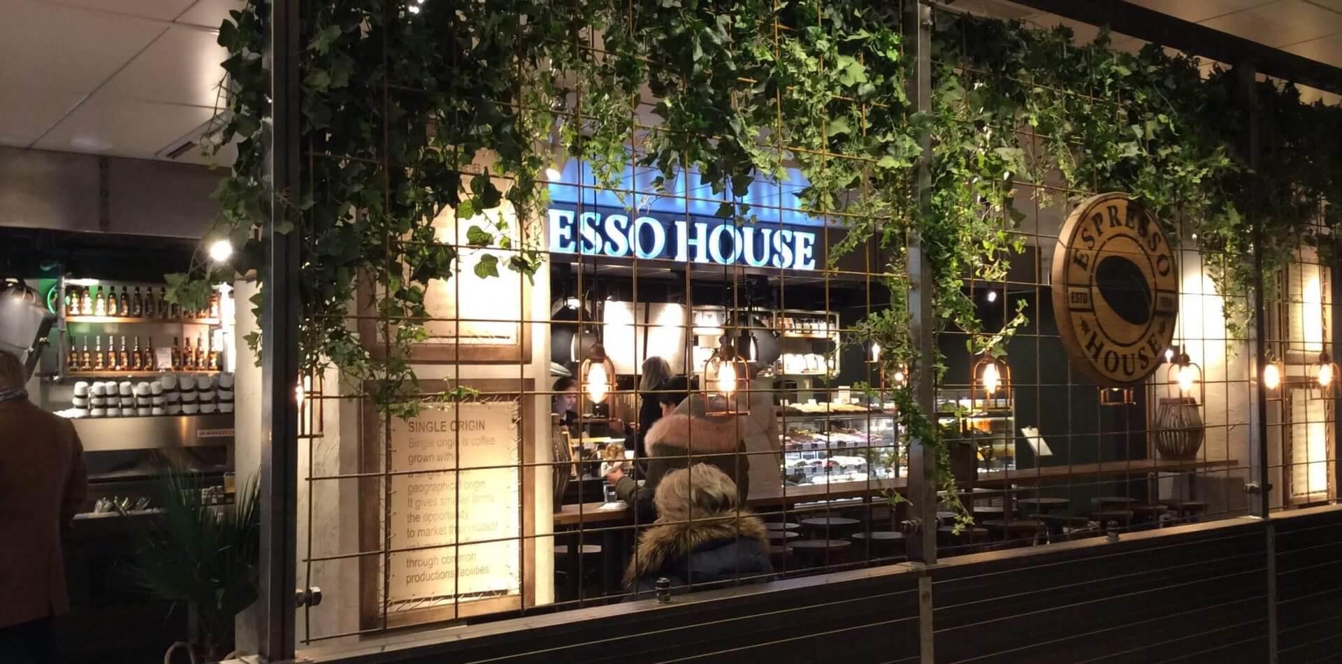 ストックマンデパートに入っているエスプレッソカフェ